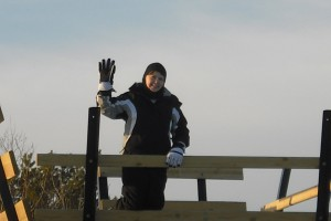 The Bird Observatory Platform is a busy place in the fall and provides a great photo op in the winter